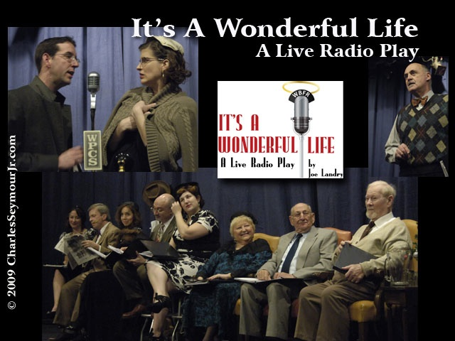 Web montage for It's a Wonderful Life: A Live Radio Play
